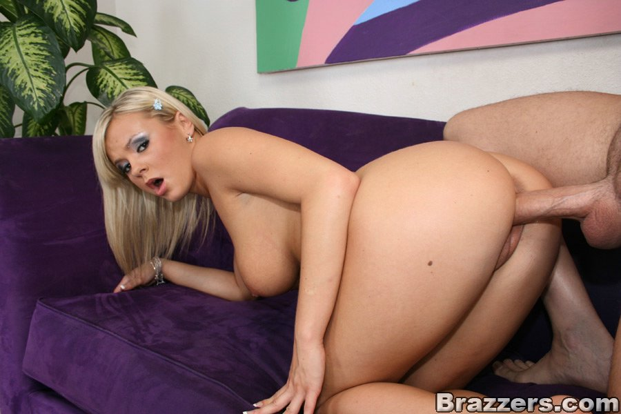 Busty bree olson keeps her heels on as she gets fucked