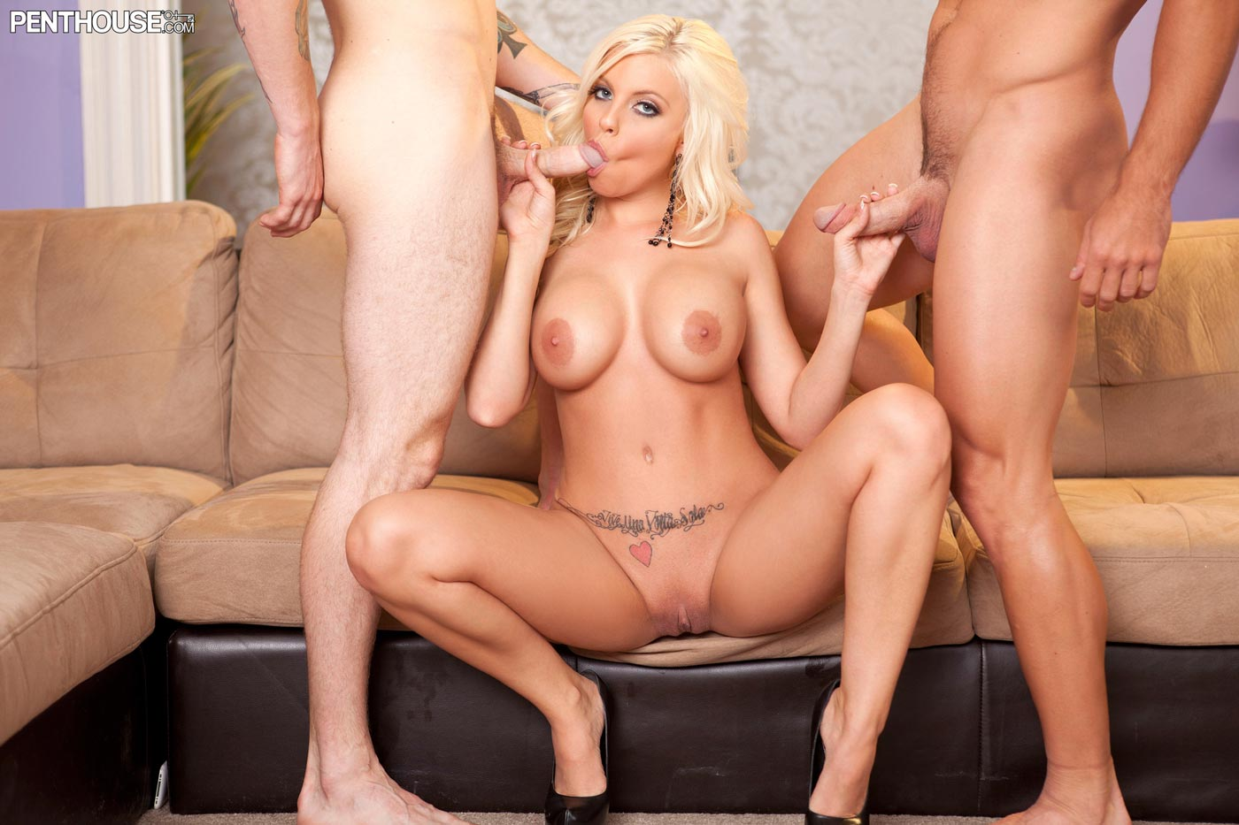 Britney Amber Gets Properly Fucked
