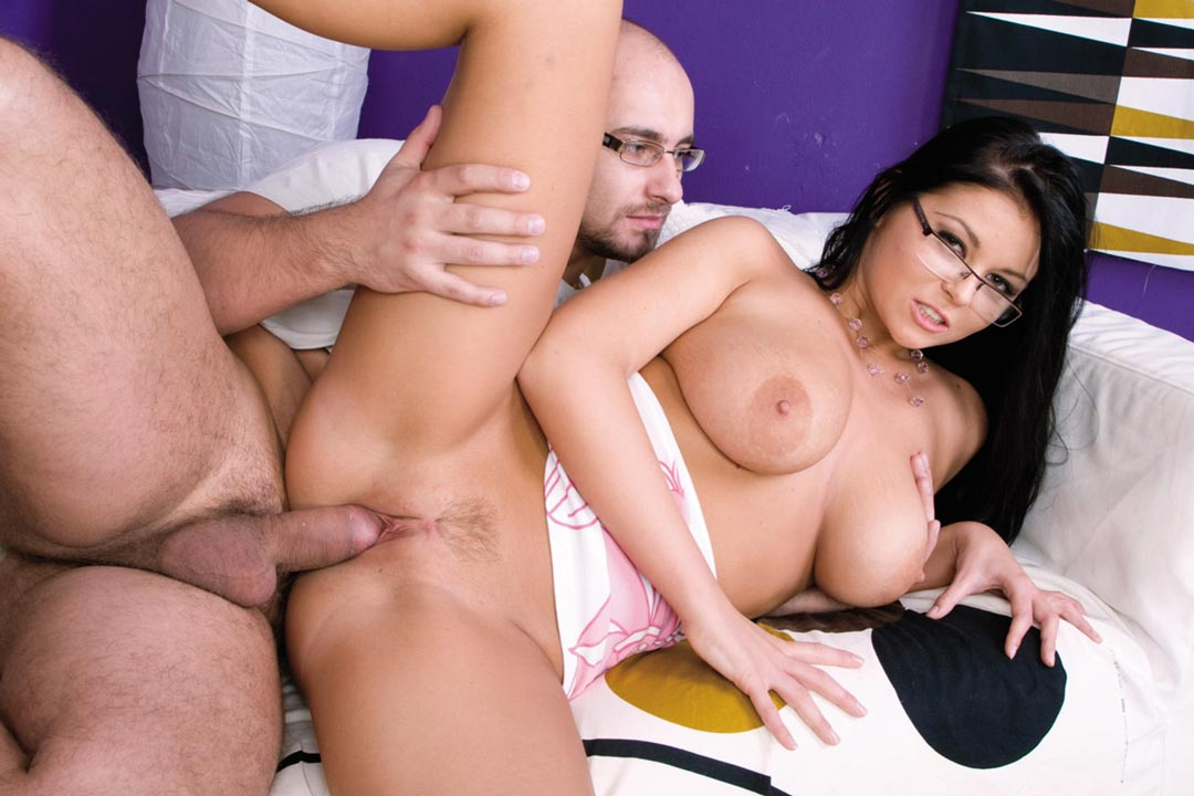 Fake Hostel Italian Girl With Huge Tits Makes A Sex Tape Threesome